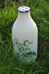 Green Cow Dairy skimmed milk 72dpi